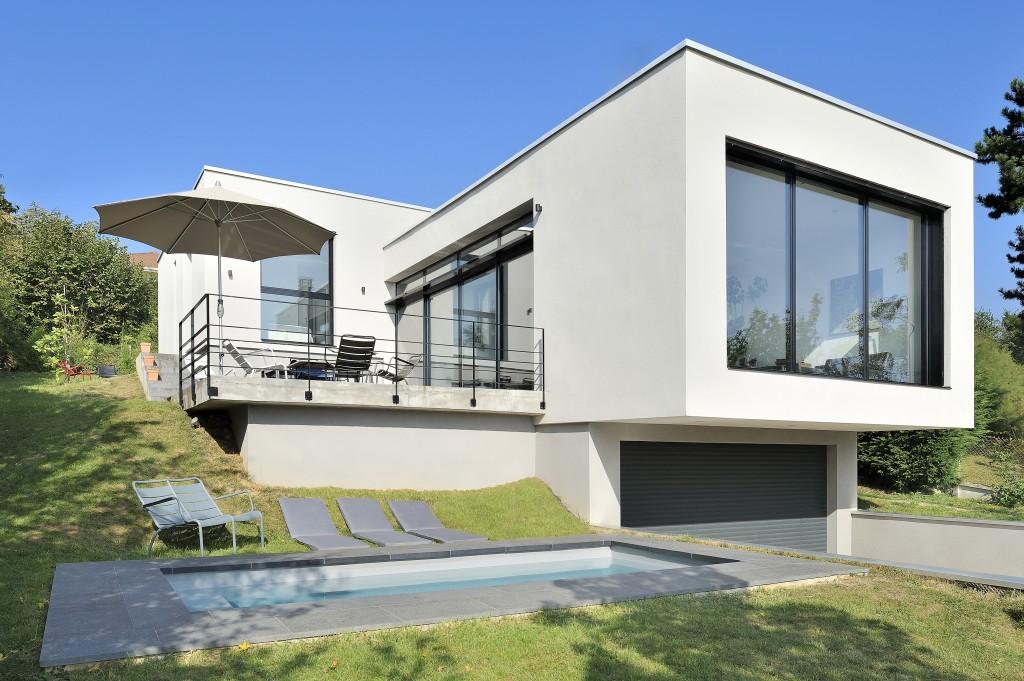 Maison architecte lyon maison lyon caluire et cuire le for Architecte lyon maison individuelle
